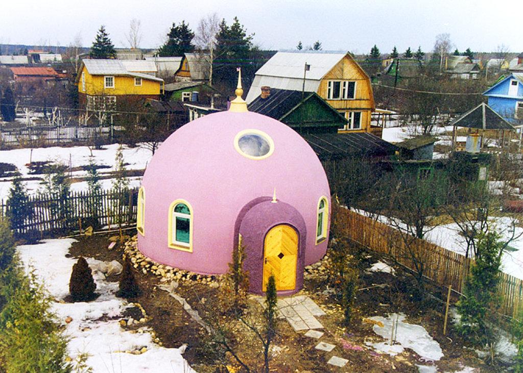 Необычные дома своими руками в россии