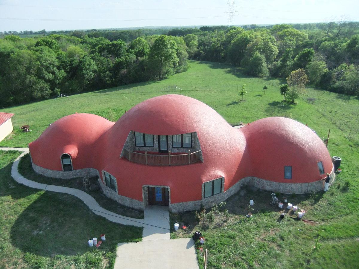 Монолитный купольный дом своими руками
